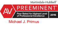 Law Offices of Michael Primus is top rated by Lawyers.com